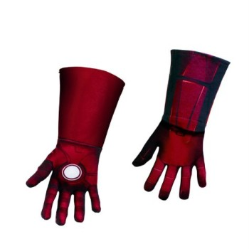 Child Avengers Iron Man Deluxe Gloves image