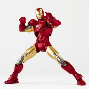 revoltech iron man mark 7 avengers action figure