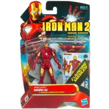 "Disney Iron Man 'Mark IV' Iron Man 2 Action Figure — 4"" image"