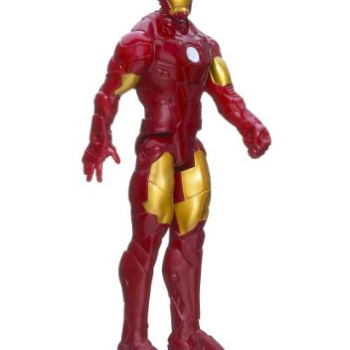 Marvel Iron Man 3 Titan Hero Series Avengers Initiative Classic Series Iron Man Figure image