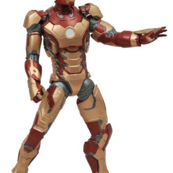Diamond Select Toys Marvel Select Iron Man 3 Movie: Iron Man Mark 42 Action Figure image