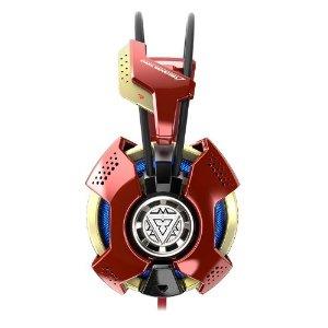 E-3lue E-Blue Marvel Iron Man 3 Collectible Limited Edition USB Surround Professional Headset image