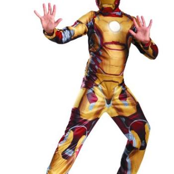 Marvel Iron Man 3 Mark 42 Boys Classic Costume image