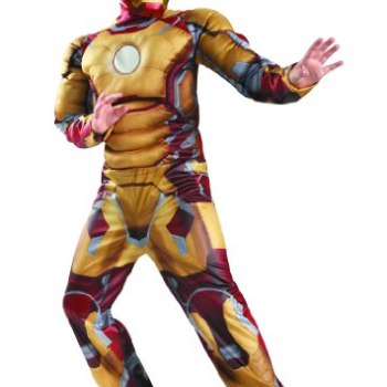 Iron Man 3 Mark 42 Classic Muscle Costume image