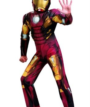Disguise Iron Man Mark VII Avengers Movie Classic Muscle image