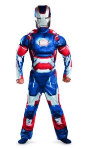 iron patriot kid costume