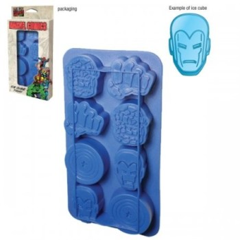 Marvel Comics Superheroes – Merchandise – Ice Cube Tray (The Thing, Fist, Captain America & Iron Man) image