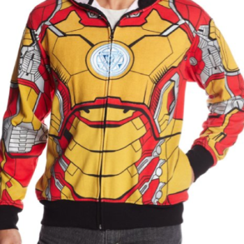 Marvel Men's Iron Man Mark 42 Costume Hoodie image